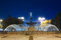 Fountain in Donetsk, Ukraine