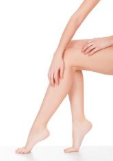 female legs.