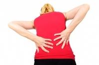 pain on back