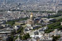 The city skyline at daytime. Paris, France.