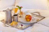 Lovely breakfast in bed