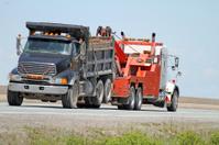 Towing A Dump Truck