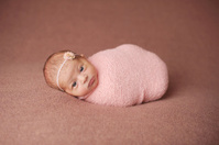Awake Newborn Girl