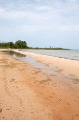 Fisherman's Island State Park, Lake Michigan
