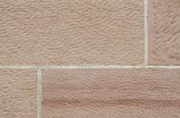 Marsonry wall of sandstone