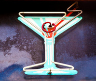 Neon Martini