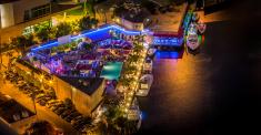 Boat Bar at Miami River