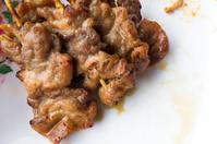 Traditional Thai roasted pork