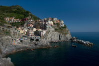 View of Manarola in the Cinque Terre