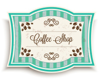 Vintage Coffee Shop Banner