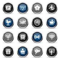 Supergloss Icons - Hotel Amenities