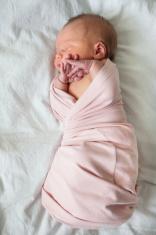 Sleeping Newborn Baby in Blanket