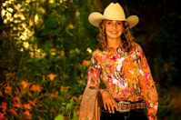 309aa083f8e Human IN Nature  Cowgirl amp ten Gallon Hat Stock Photos ...