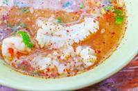 Boiled rice sea