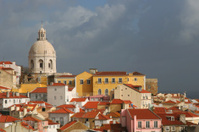 view on city Lisbon