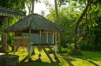 High seat of fisherman in Bali