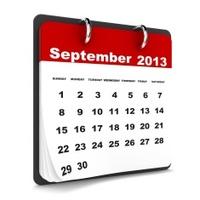 September 2013 - Calendar series