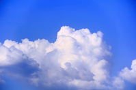 Summer fluffy sky