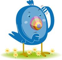 Blue Bird wondering