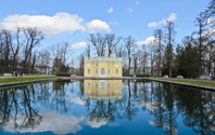 Pavillion in Catherine palace