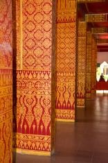Thai art at temple