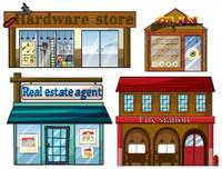 Different establishments