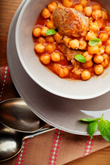 Lamb Ragout with chickpeas