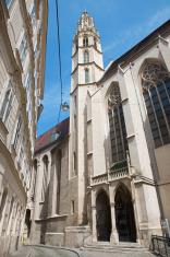 Vienna - church Maria am Gestade from east