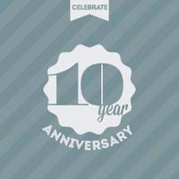 Anniversary celebration background
