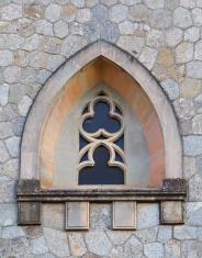 Window arc in wall
