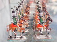 Toy  metal cavalry
