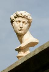 Roman Type Head Figure