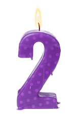 Second 2nd birthday or anniversary