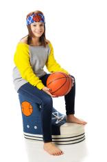 Basketball Sneaker Sitter