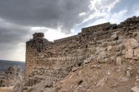 Nimrod castle and Israel landscape
