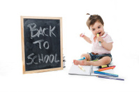 Sweet baby go back to school