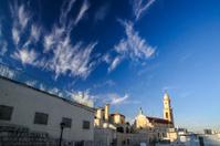Landscape of Salesian Church in Bethlehem
