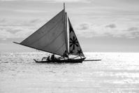 sail boat in boracay