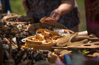 Sale of handicrafts