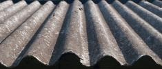 Old corrugated slate