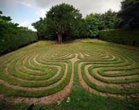 Turf Labyrinth