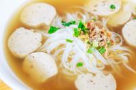 close-up pho moo yo Vietnam
