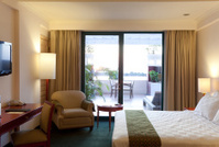 luxury five star hotel room terrace