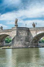 Alte Mainbrücke Lower Franconia Germany