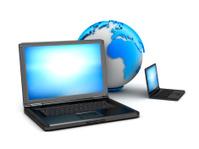 Global computer network - concept illustration