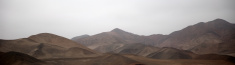 Costal desert south of Lima, Peru