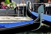 Gondolas of Venice, Italy