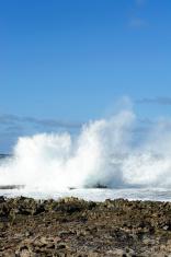 rough caribbean sea