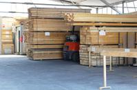 Wood warehouse