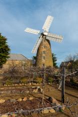 Oatland historic city windmill tasmania